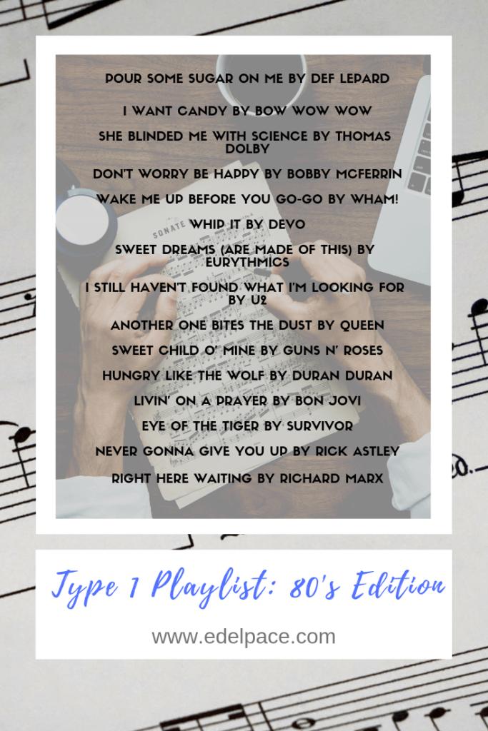 Type 1 diabetes Playlist